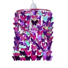 Fuchsia Butterfly Easy Fit Light Shade