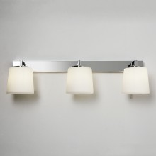 Astro Lighting - Triplex 1304001 (7093) - IP44 Polished Chrome Wall Light