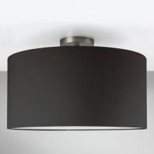 Astro Lighting - Semi Flush Unit 1362002 (7461) & 5016005 (4091) - Matt Nickel Ceiling Light with Black Shade Included