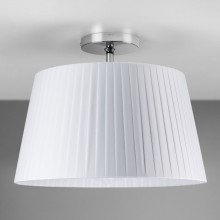 Astro Lighting - Semi Flush Unit 1362001 (7460) & 5002009 (4086) - Polished Chrome Ceiling Light with White Shade Included