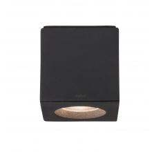 Astro Lighting - Kos Square 1326007 (7510) - IP65 Textured Black Downlight/Recessed Spot Light