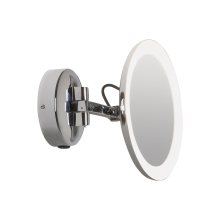 Astro Lighting - Mascali Round LED 1373001 (7627) - IP44 Polished Chrome Magnifying Mirror
