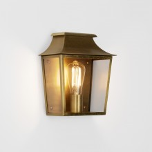 Astro Lighting - Richmond Wall 235 1340006 (7864) - IP44 Antique Brass Wall Light