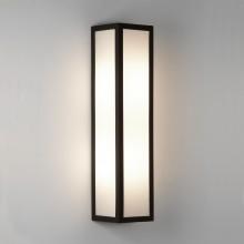 Textured Black 3000K LED Bathroom Wall Light