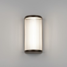 Bronze 4.7W LED IP44 250mm Wall Light
