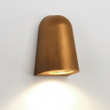 Antique Brass Coastal IP65 Outdoor GU10 Wall Light