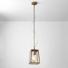 Antique Brass IP23 Pendant