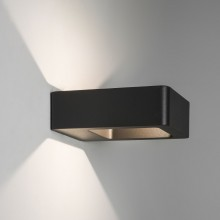 Textured Black IP54 LED Outdoor Wall Light