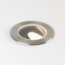 Brushed Stainless Steel LED Recessed Ground Light