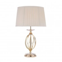 Polished Brass 60W E27 Table Lamp