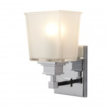 Chrome 40W G9 IP44 Bathroom Wall Light