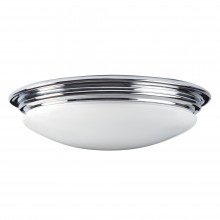 Polished Chrome x 7W LED GX53 IP44 Bathroom Flush Light