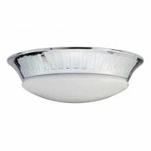 Polished Chrome x 7W LED GX53 Bathroom Flush Light