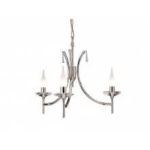 Elstead - Brightwell BR3-NICKEL Chandelier