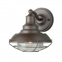 Old Bronze 60W E27 IP43 Industrial Garden Wall Light