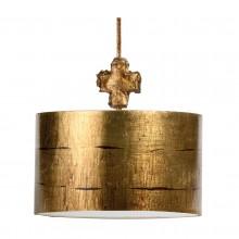 Aged Gold 100W E27 Pendant