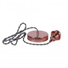 Vintage flex set E27 - Copper
