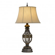 Antique Brown 60W E27 Table Lamp
