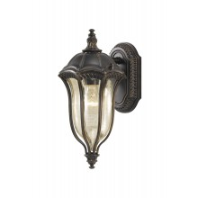 Walnut E27 100W Dimmable IP44 Coach Lantern