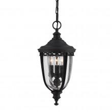 Black 60W E14 Garden Lantern Pendant