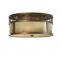 Astral Bronze E27 60W Dimmable 380mm Diameter Flush
