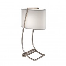 Brushed Steel 60W E27 Table Lamp