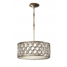 Burnished Silver E27 100W Dimmable 425mm Diameter Pendant