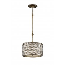 Burnished Silver E27 100W Dimmable 320mmmm Diameter Pendant