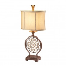 British Bronze/Oxidized Bronze 60W E27 Table Lamp