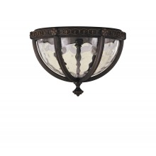 Walnut E14 60W Dimmable IP44 Garden Flush