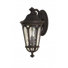 Walnut E14 60W Dimmable IP44 Coach Lantern