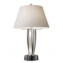 Polished Nickel 60W E27 Table Lamp