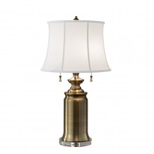 Bali Brass 60W E27 Table Lamp