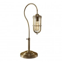 Dark Antique Brass 60W E27 Table Lamp