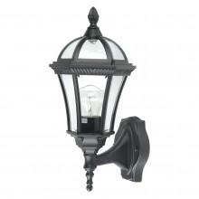 Black 100W E27 IP44 Garden Lantern
