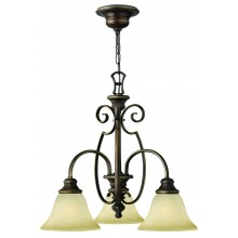 Antique Bronze 100w E27 Dimmable 510mm Diameter Pendant