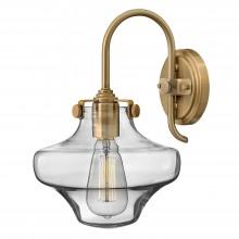 100W E27 Clear Glass Wall Light