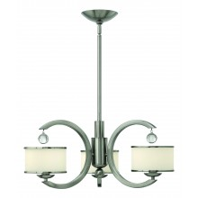 Brushed Nickel 60W Dimmable 635mm Diameter Pendant