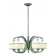 Brushed Nickel 60W Dimmable 700mm Diameter Pendant