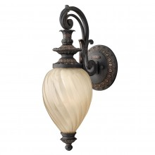 Aged Iron 100W E27 IP44 Garden Wall Light