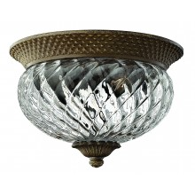 Pearl Bronze 60w E27 Dimmable 305mm Diameter Flush