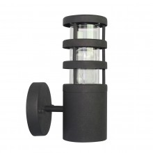 304 SS/Black 60W E27 IP44 Garden Wall Light