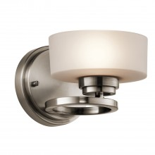 40W G9 1lt Wall Light