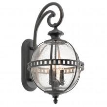 IP44 3 Light Wall Lantern Londonderry