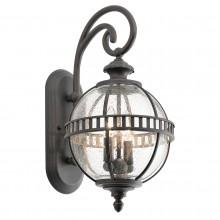 IP44 2 Light Wall Lantern Londonderry