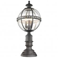 IP44 3 Light Pedestal Lantern Londonderry