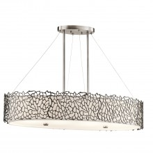 100W E27 Coral Oval Island Light