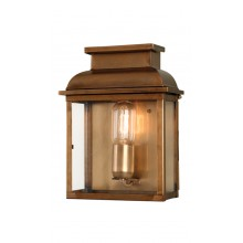 Antique Brass 100W E27 IP44 Garden Wall light