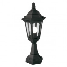 Black 100W E27 IP44 Garden Post