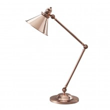 1 Light Table Lamp Polished Copper